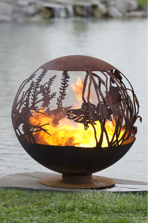 Artisan Fire Pit Fire Pit Spheres The Fire Pit Gallery