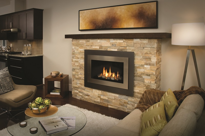 Valor Gas Fireplace  H4 Series  The Fireplace Club