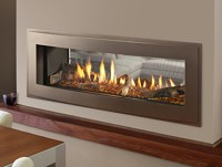 Heatilator Crave See-Through Series Gas Fireplace - The ...