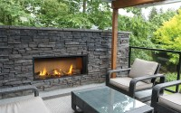 Valor Outdoor Gas Fireplace - L1 Outdoor Linear Series Gas ...