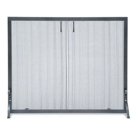 THE FIREPLACE ELEMENT Pull Curtain Screen