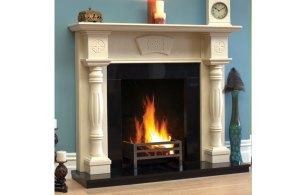 Celtic Pillar Fireplace