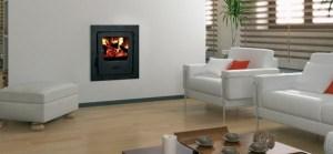 Firebird Multifuel Backboiler inset stove 12kw