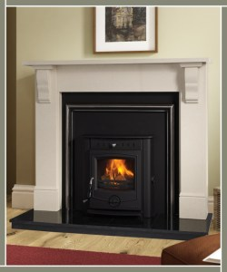 Plain Tudor Fireplace