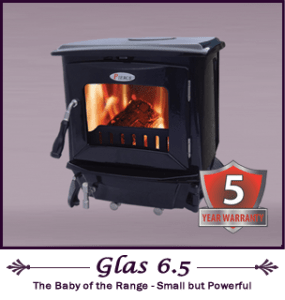 Pierce Glas 6.5kw Stove