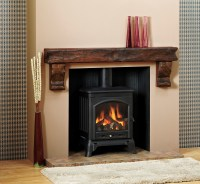 Corbelled Beam - The Fireplace Lounge