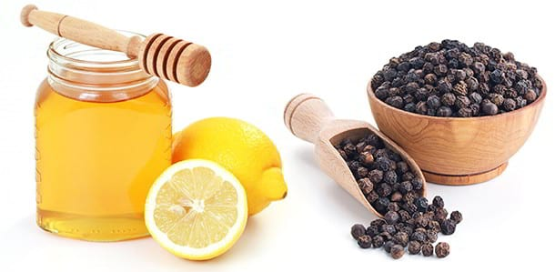 Honey, Black Pepper and Lemon