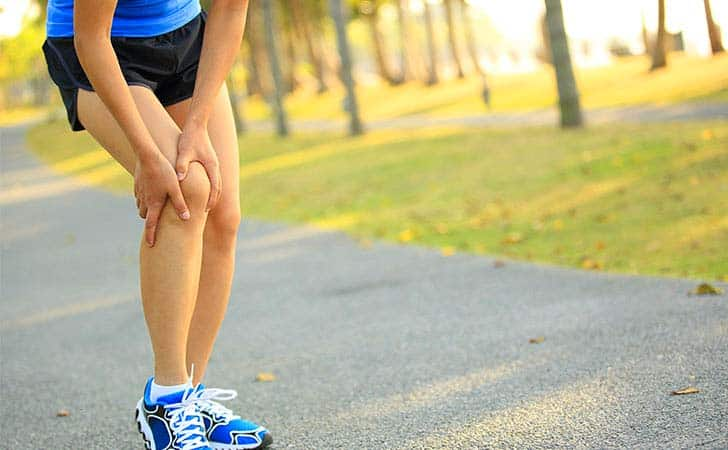 Knee Pain Exercise at home and Eat inflammation fighting foods