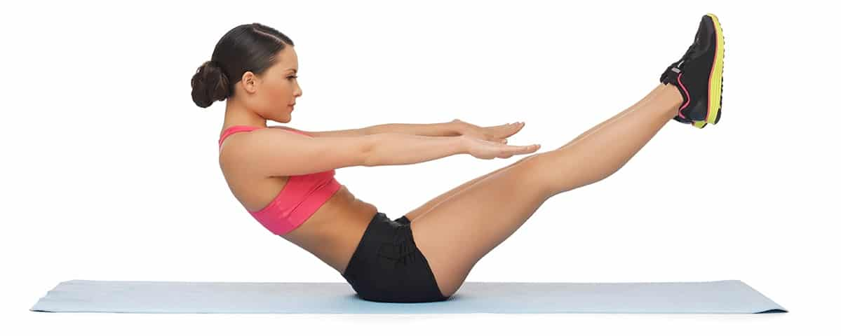 Do Pilates Exercises work the abs as well as remove the all belly fat quickly