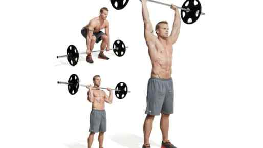shoulder-workout-clean-and-press