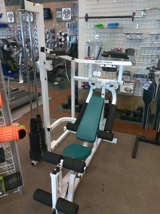 Refurbished Pacific Fitness Del Mar Home Gym The Fitness