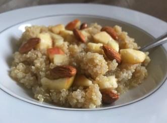 Ici en petit déj sucré, recette dans le prochain ebook :p