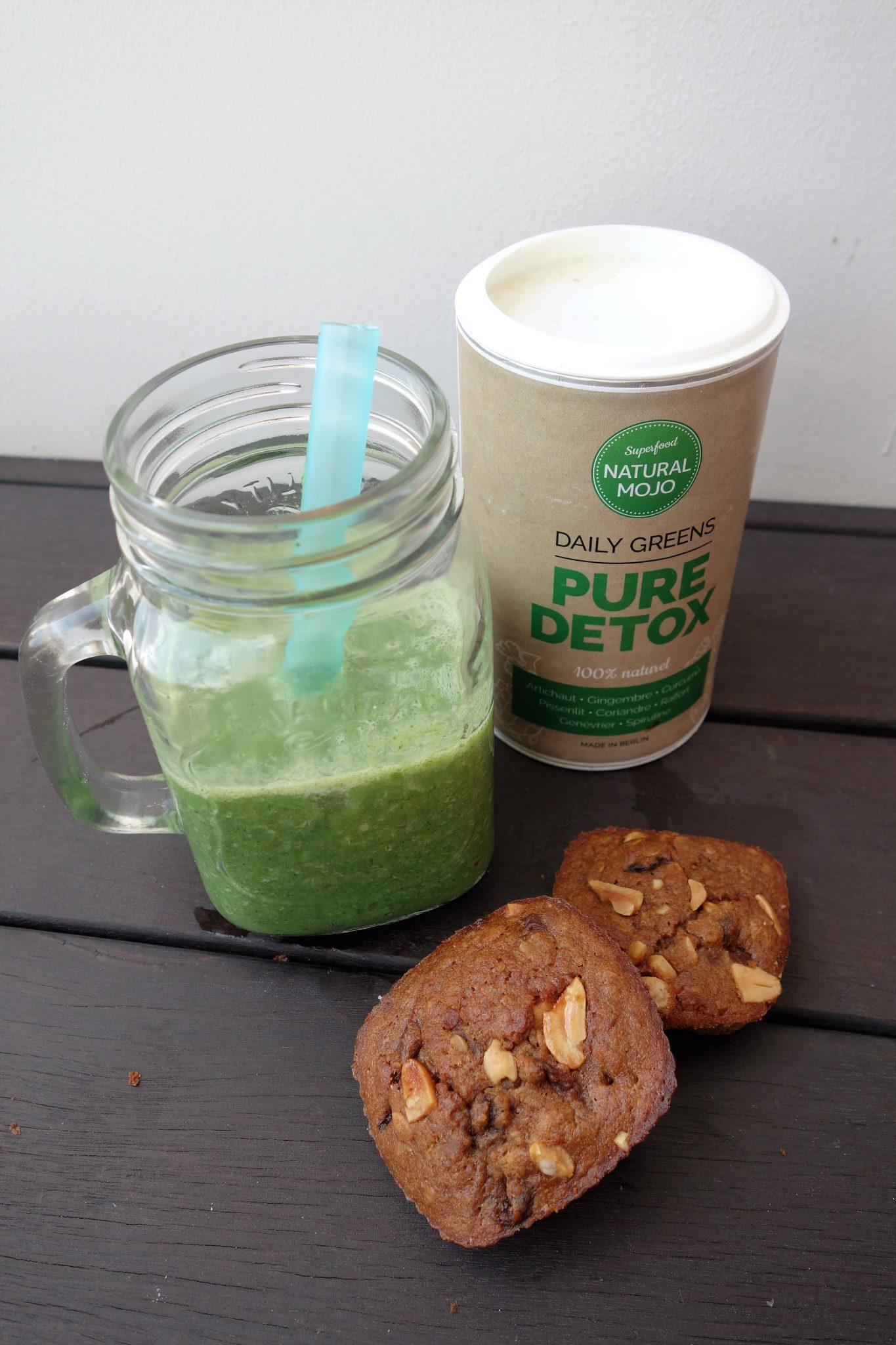 green smoothie pure detox natural mojo thefitnesstheory