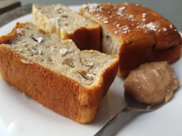 gouter healthy allégé banana bread gateau banane