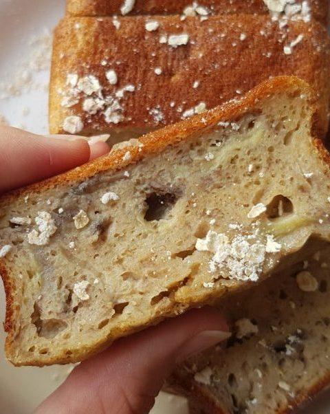 banana bread allégé thefitnesstheory