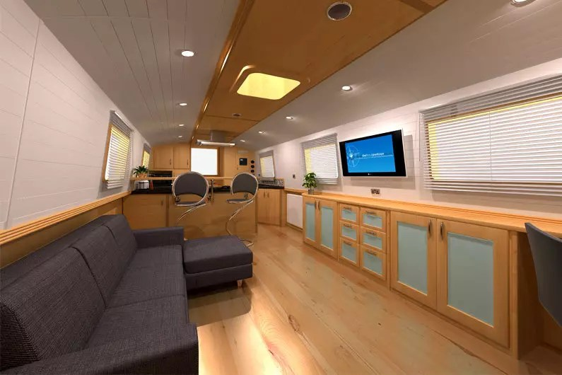 Canal Boat Design Consultants  Narrowboat  Widebeam