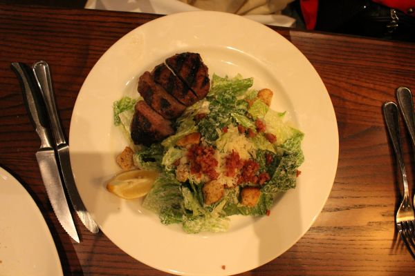 the keg steak salad