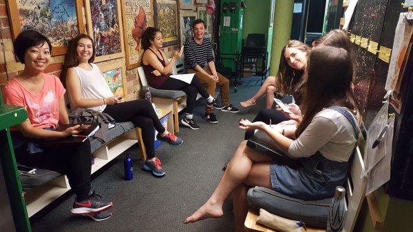 ypt summer intensive musical theatre cast