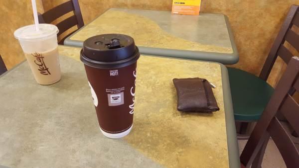macdonalds coffee
