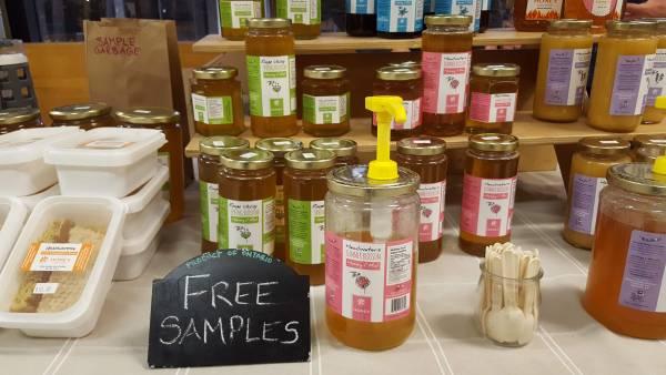 farmer's market york university YUM honey