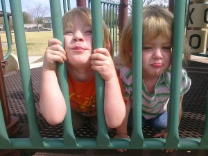 twins, jailed children, Karie Herring
