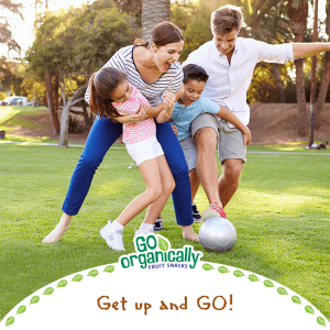 outdoor spring activities, go organically organic fruit snacks, go organically