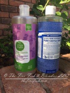 DIY dandruff shampoo, Castile soap, Dr Bronners, DIY, toxin free