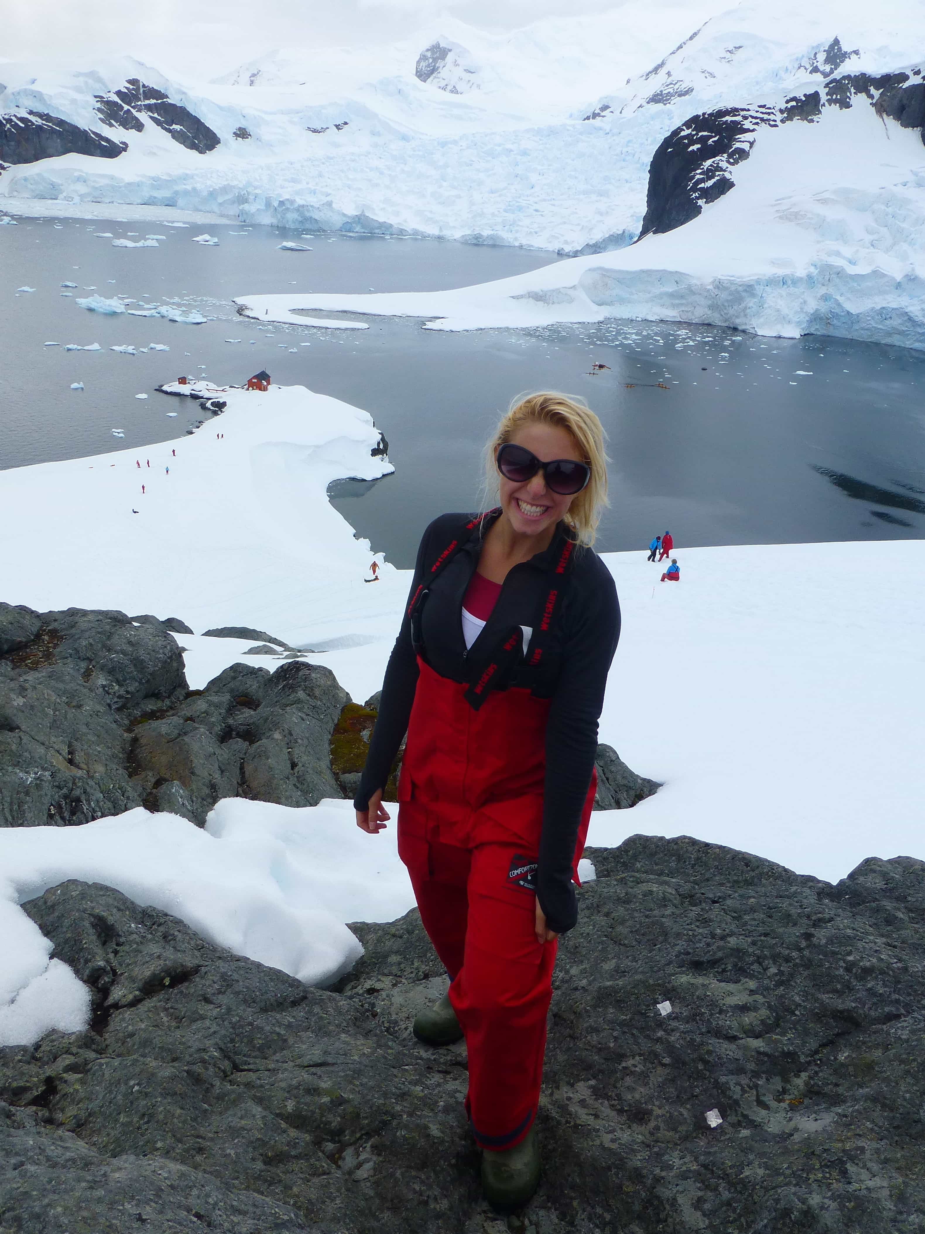 First view of Antarctica!