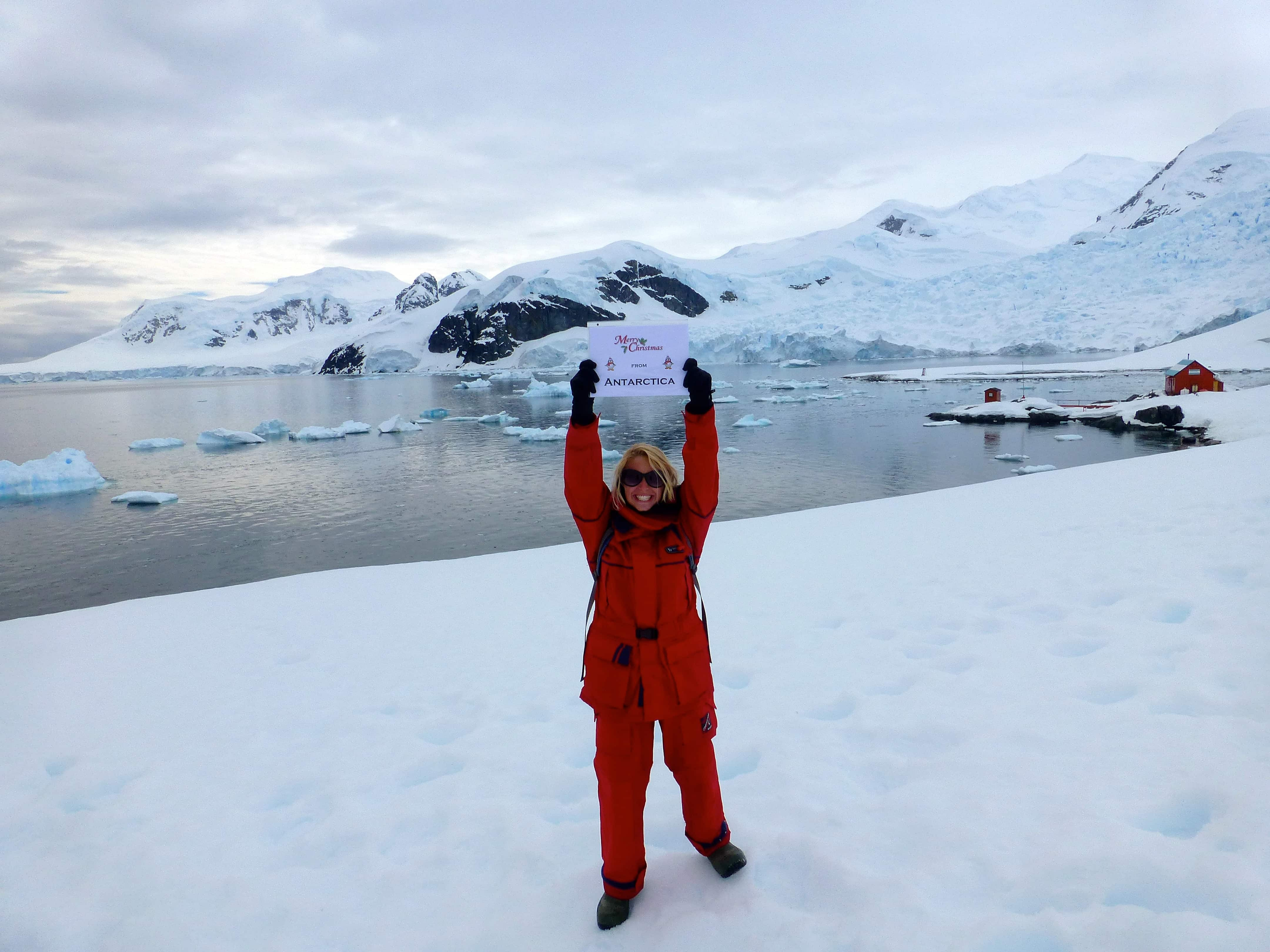 Christmas in ANTARCTICA