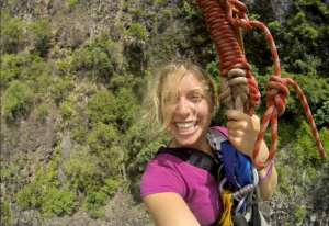 Victoria Falls Gorge Swing!