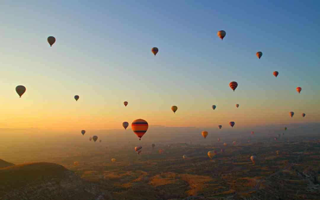 Hot Air Ballooning in Cappadocia like Royalty