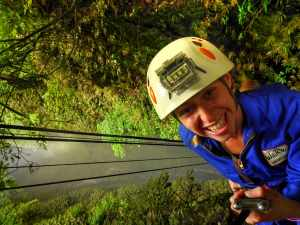 Rappelling Into The Lost World