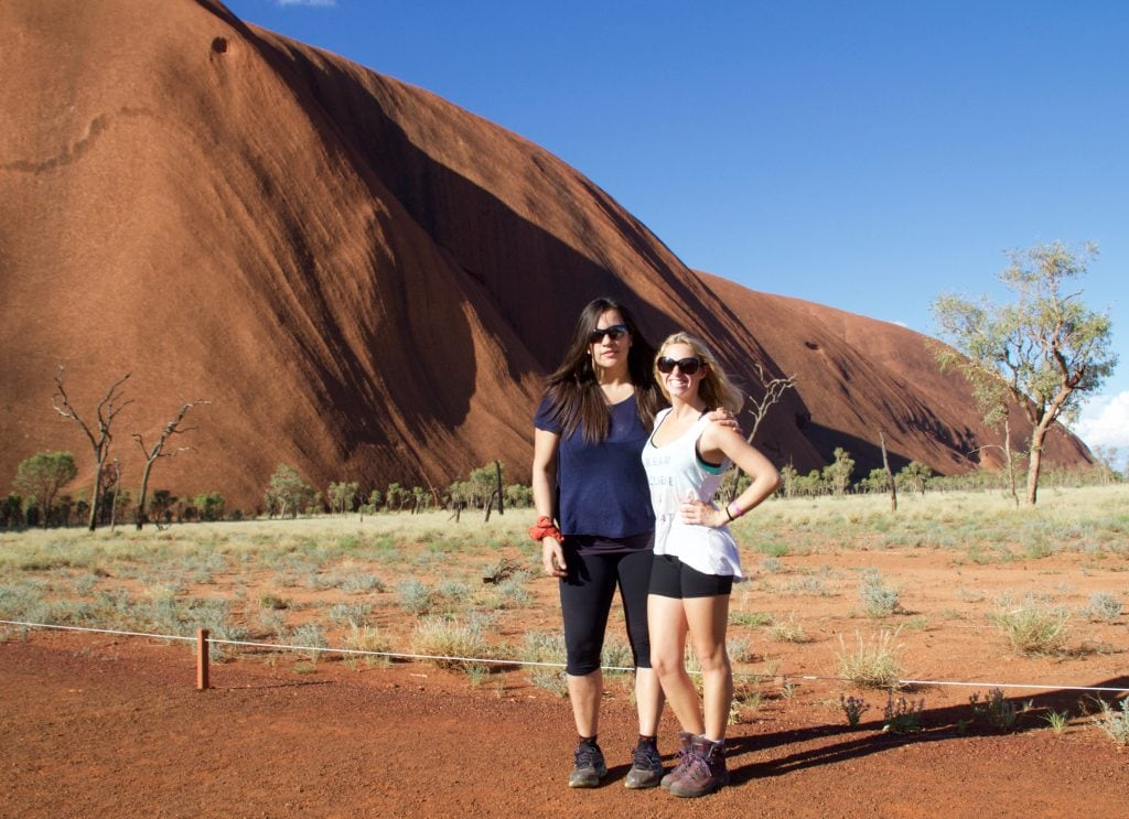 Found in Australia's Red Center, Uluru is the biggest monolith on Earth. This sacred site is best visited with a tour company, such as EmuRun Experience. Read more at www.thefivefoottraveler.com
