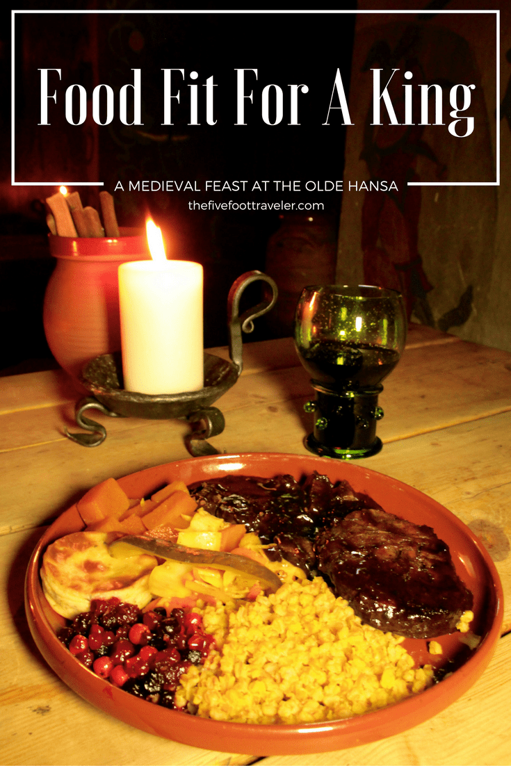 Tallinn's Olde Hansa is a dining experience like no other! They go above and beyond to bring you an authentic meal within this truly medieval town. Read more at www.thefivefoottraveler.com
