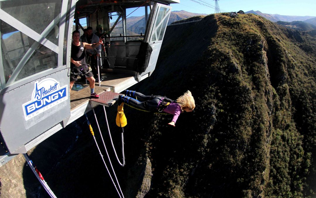 The Nevis Bungy: A 134m Jump!