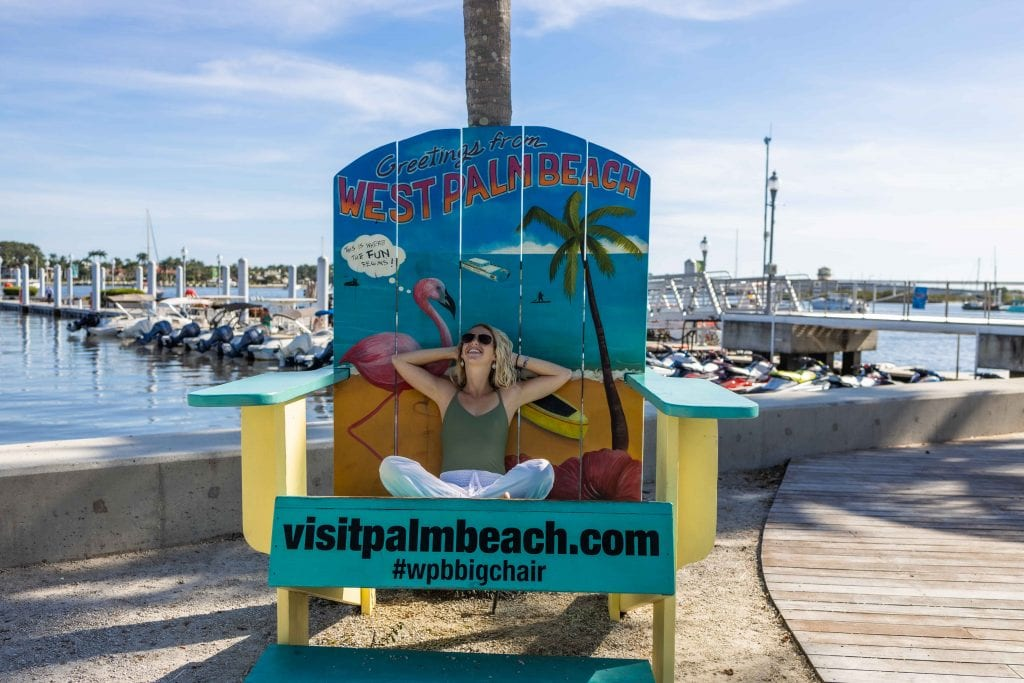 visit palm beach big chair