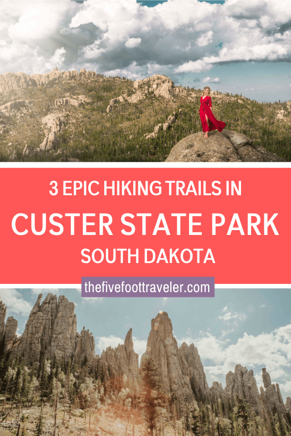 cathedral spires, little devils tower, sylvan lake - custer state park south dakota