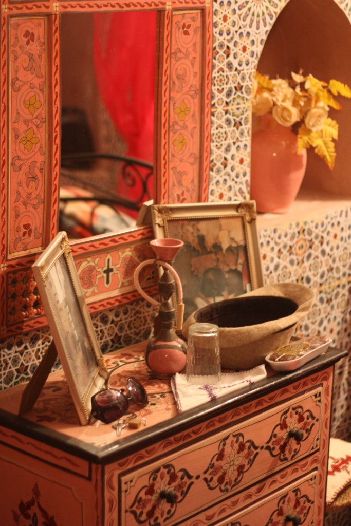 Our room in the riad: gorgeous attention to detail for less than £30 per night