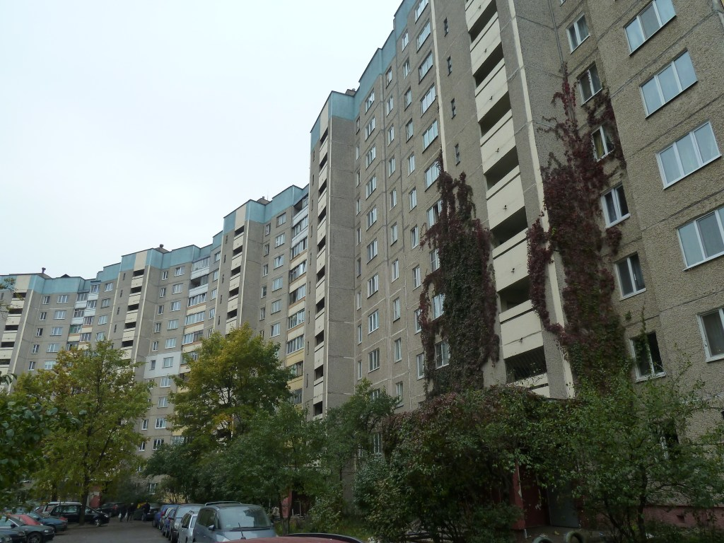 Your average Belarusian apartment block