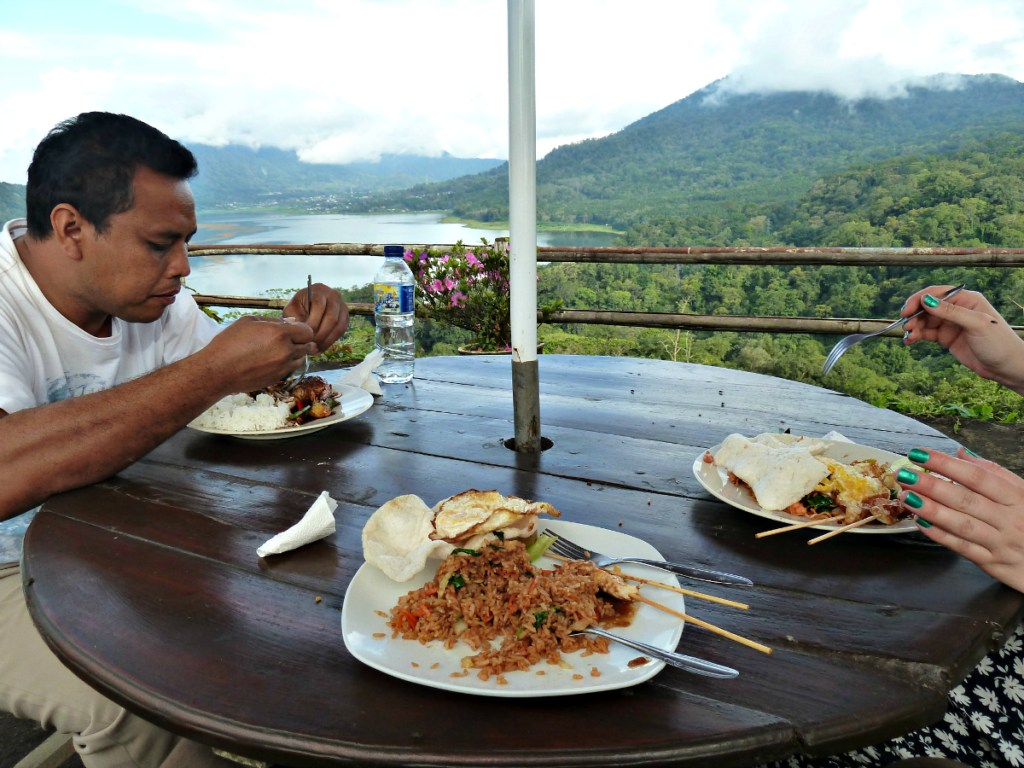 Nasi goreng, breakfast and lunch and dinner of champions