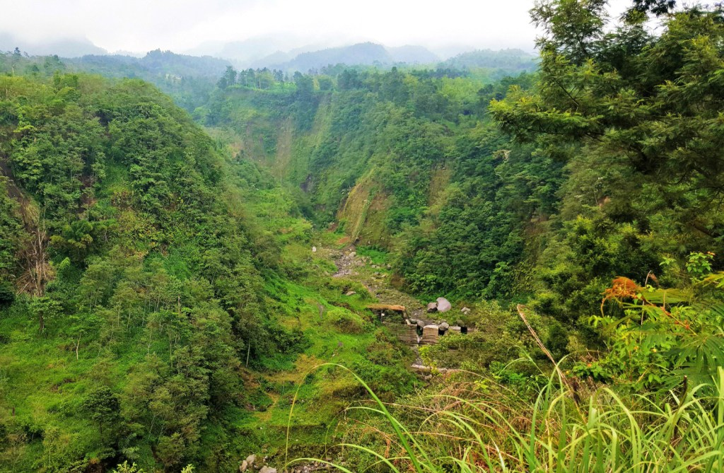 A deceptively beautiful valley on the flanks of Mount Merapi