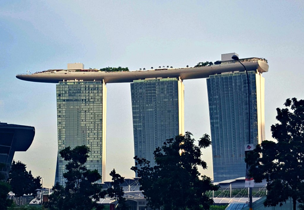 Singapore's most iconic and perhaps plushest hotel: Marina Bay Sands