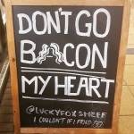 The latest in my collection of punny regional restaurant signs