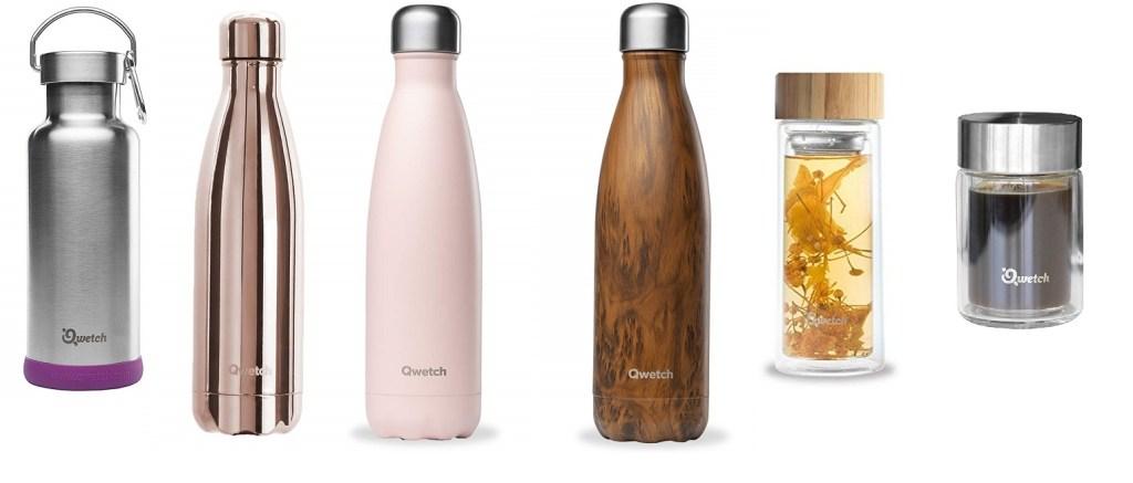 Les gourdes en inox permettent de ne plus acheter d'eau en bouteille plastique jetable