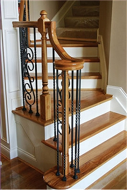 refinishing kitchen cabinets cost las vegas strip hotels with stairs,stair parts accessories,metal newels,balusters ...