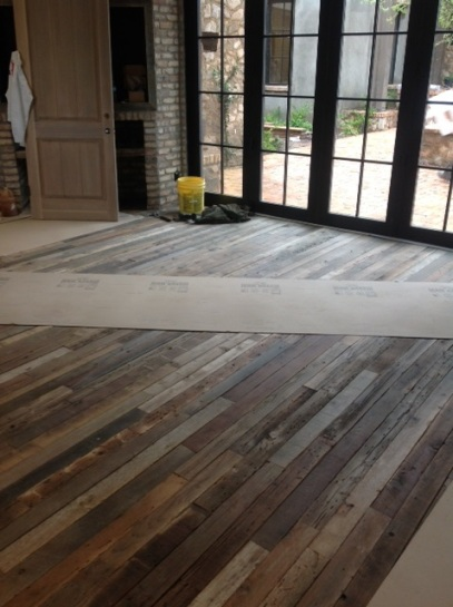 Reclaimed warehouse wood flooring  The Floor Collection