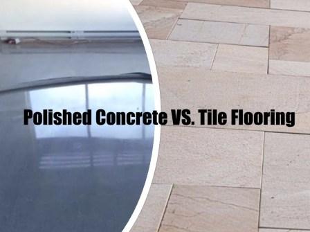polished concrete vs tile flooring ottawa polished concrete floors
