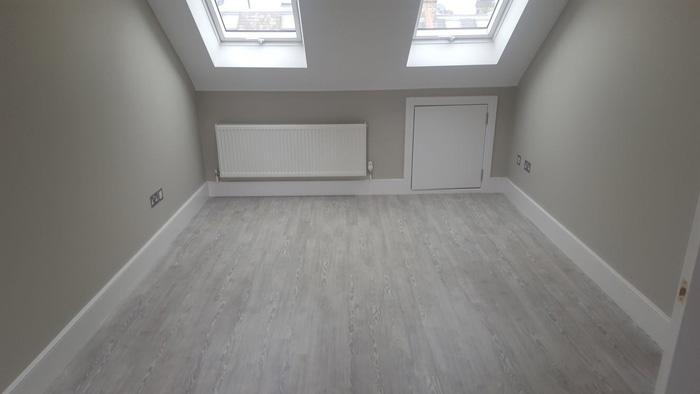 Bathroom & Bedroom, Amtico Grey