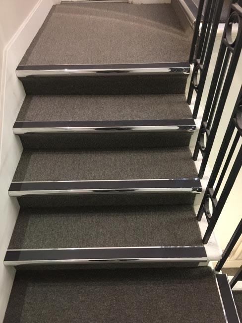 Stairs, Carpet Tiles