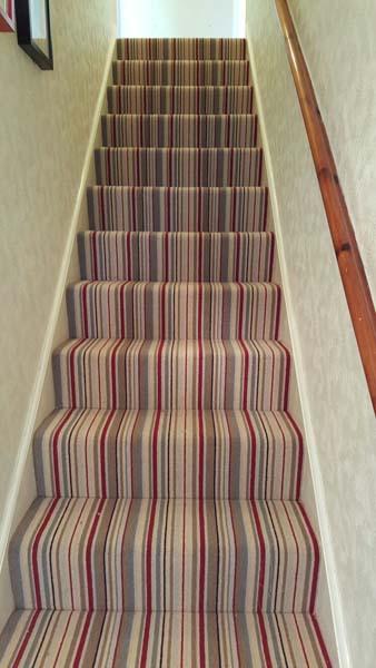 Striped Stair Carpet
